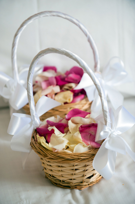 Basket of Rose Petals