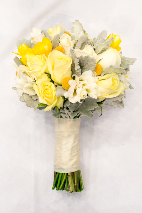 Bouquet of Creams and Yellows