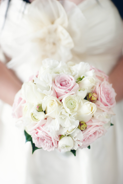 Soft Pinks and Whites Bouquet