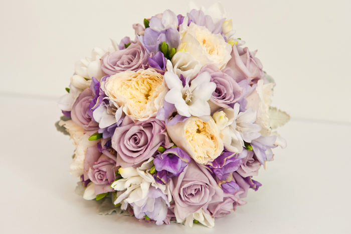 Vintage Posy of Creams and Mauves