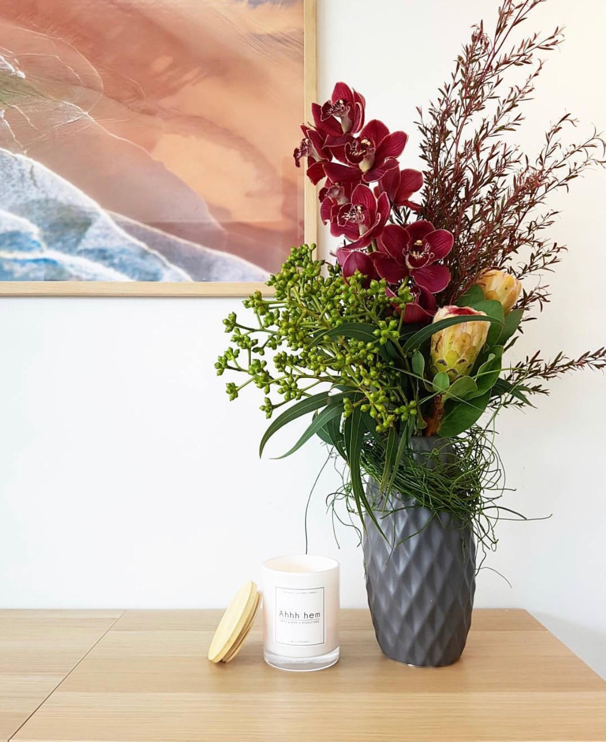 Breathe life into your workplace! Ask about our Corporate Floral Arrangements…